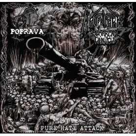 RAVENDARK'S MONARCHAL CANTICLE / POPRAVA - Pure Hate Attack