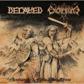 DECAYED  / EXCRUCIATE 666 - Lusitanian & Gallic Black Terror
