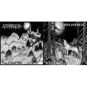 SZARLEM / WOLFSPIRIT - From Ancient Times / In Battle Rage