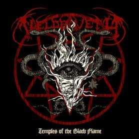 VELDRAVETH - Temples of the Black Flame . CD