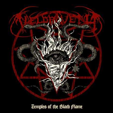 VELDRAVETH - Temples of the Black Flame . CD