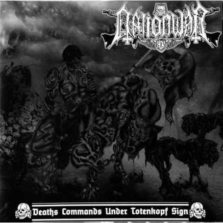NATION WAR - Deaths Commands Under Totenkopf Sign