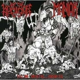 KORIHOR / MANIAK - From Death... Rising ! . CD