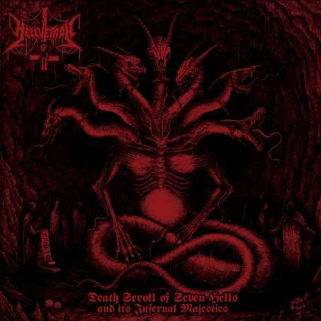HELLVETRON - Death Scroll of Seven Hells and Its Infernal Majesties . CD
