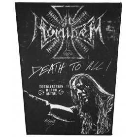 AD HOMINEM - Death To All . Backpatch