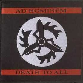 AD HOMINEM - Death To All . Patch