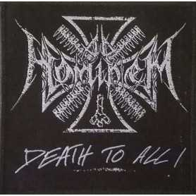 AD HOMINEM - Logo + Death To All . Patch