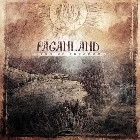 PAGANLAND - Wind of Freedom . CD
