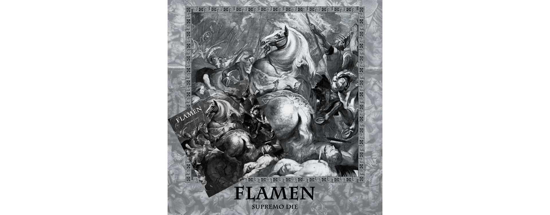 """FLAMEN - Supremo Die . Vinyl 12"""" LP and MCD"""
