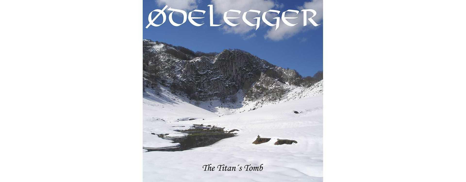 """ØDELEGGER - The Titan's Tomb . 12""""LP"""