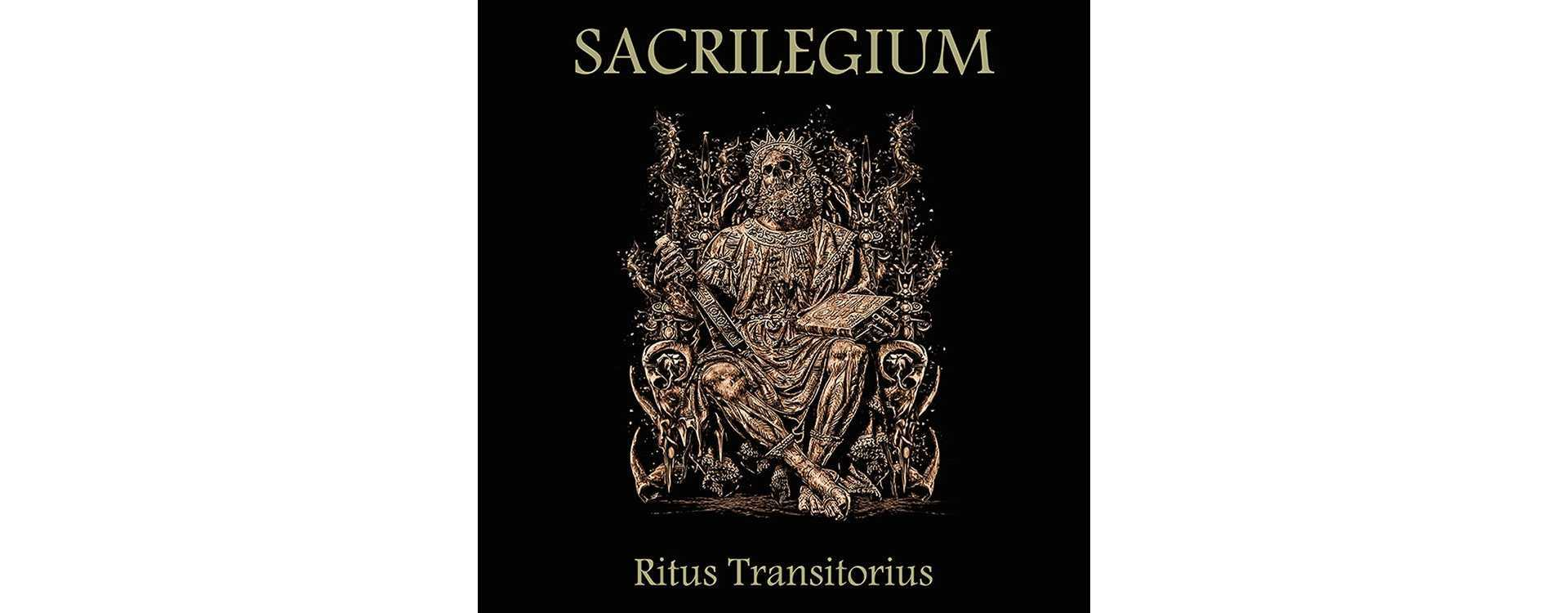 """SACRILEGIUM - Ritus Transitorius . Vinyl 12"""" LP"""