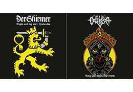 "DER STÜRMER / VIA DOLOROSA - Split S/T . Vinyl 7"" EP"