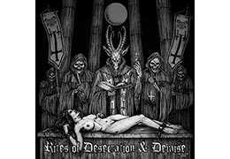 DRACONIS INFERNUM - Rites of Desecration and Demise . CD