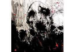 "SACRIFICIA MORTUORUM / ORTHANC - Split S/T . Vinyl 12"" LP and CD"
